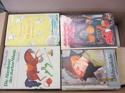 65 Bücher ältere Kinderbücher ältere Jugendbücher ältere Jugendromane Paket 1