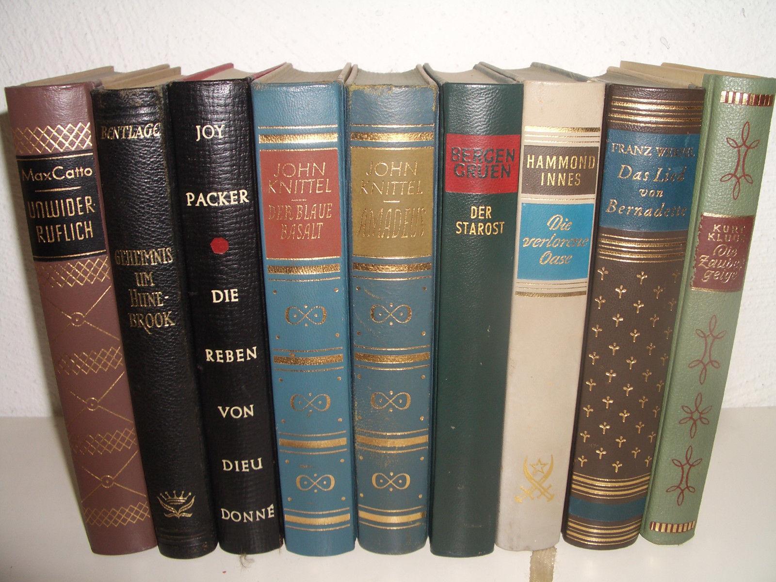 25 alte Bücher,Konvolut (50er/60er) Klassiker,Top-Autoren,sehr guter zustand