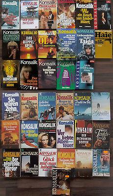 Bücher Paket Heinz G. Konsalik, Sammlung 36 Stck. Roman Spannung Liebe