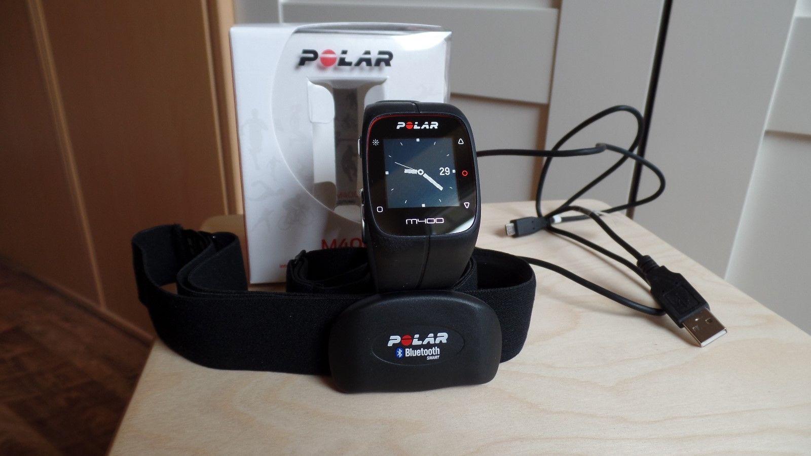 Polar M400 Pulsuhr mit GPS, inkl. Polar H7 Herzfrequenz-Sensor