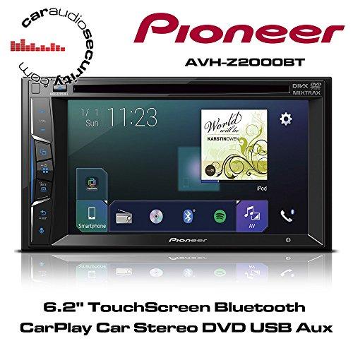 Pioneer AVH-Z2000BT 15,7 cm (6,2 Zoll) Touchscreen, Bluetooth Media-Receiver mit USB, CD/DVD, MP3 schwarz