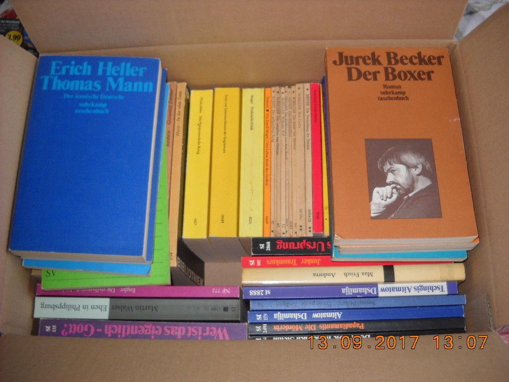 55 x Bücher - Reclam / Suhrkamp