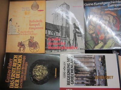 39 Bücher Kunst Kultur Geschichte Weltgeschichte Kunstgeschichte