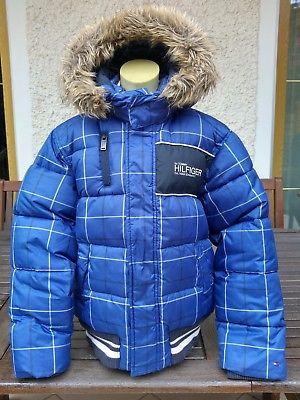 TOMMY HILFIGER Winterjacke Jacke in der Gr. 140 (10) RARE