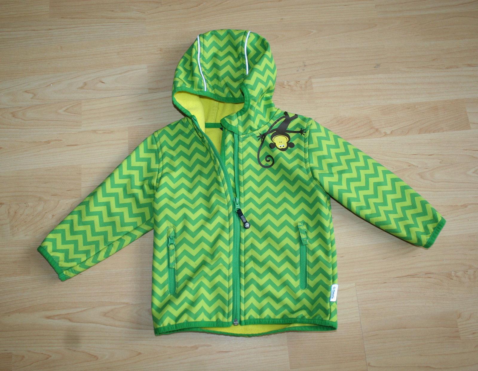 Farbenfrohe Softshell-Jacke Jako-o Größe 80/86 unisex Übergangs Mantel Anorak
