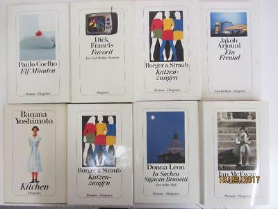60 Bücher Diogenes Verlag Hardcover