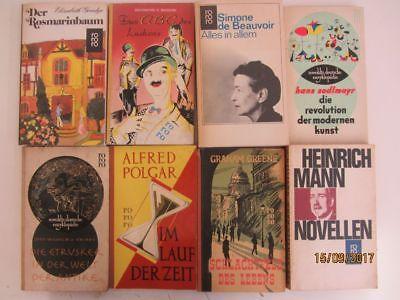 139 Bücher Taschenbücher rororo Verlag bis Seriennummer 8000