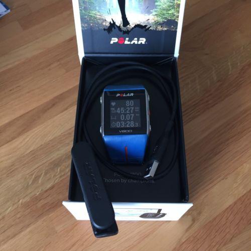 Polar V800 GPS Sportuhr, blau - gebraucht