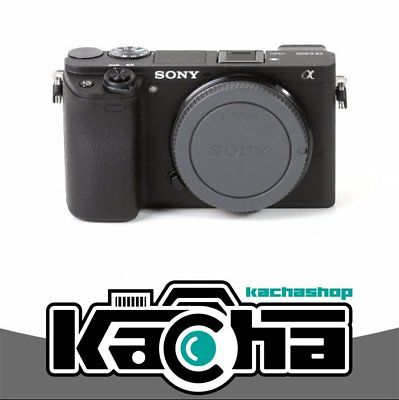 NEU Sony Alpha a6300 Mirrorless Digital Camera Black Body (Kit Box)