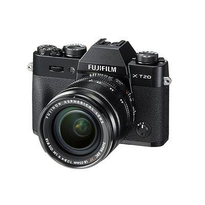 Fujifilm X-T20 XF 18-55mm F2.8-4.0 R LM OIS Kit XT20 Black Original