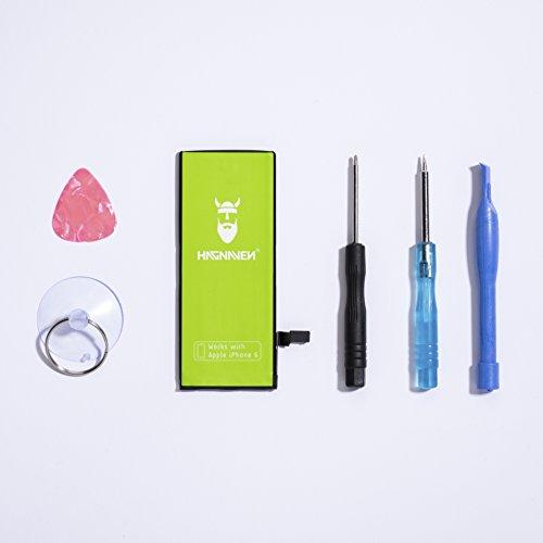 Hagnaven® Li-Ion Akku für iPhone 6 LEISTUNGSSTÄRKSTER Ersatzakku Premiumakku inklusive WERKZEUG 1910 mAh unbändige KRAFT UND PURE STÄRKE Hochwertigste QUALITÄTSZELLEN BESTE AKKULAUFZEIT SEHR BELIEBT Battery Batterie (DEUTSCHER FACHHANDEL) -OVP-