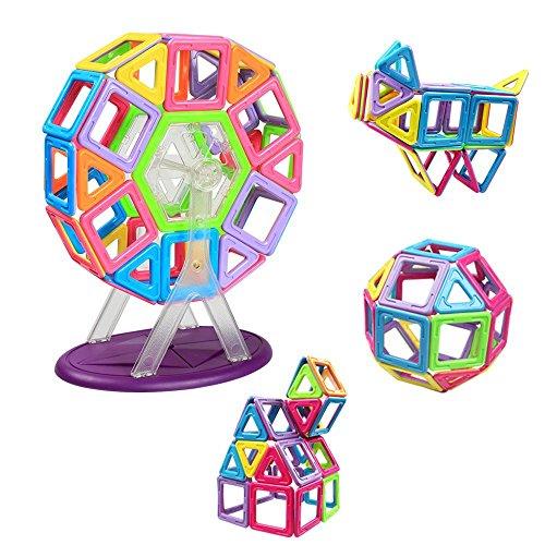 Magnetische Bausteine, Innoo Tech größe Riesenrad Bauklötze, Inspirierende Konstruktionsbausteine, Lernspielzeug, Tolles Geschenke für Baby Kleinkind ab 3 Jahre, Perfektes Magnetspielzeug für den Einsatz zu Hause, in Schulen, Picknick, Kindertagesstätten