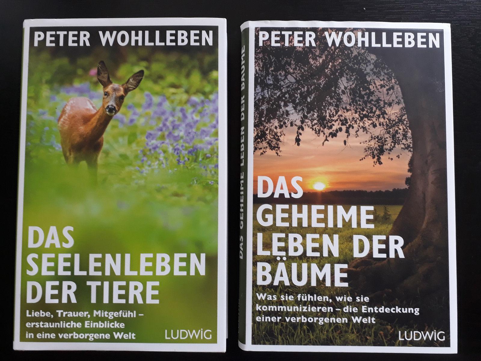 Das geheime Leben der Bäume + Das Seelenleben der Tiere - Von Peter Wohlleben
