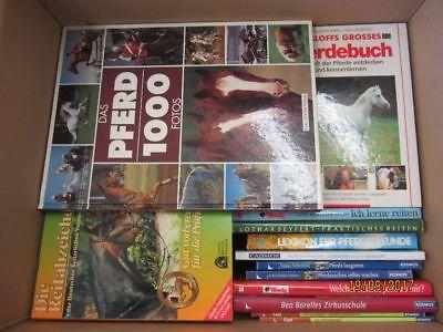 50 Bücher Bildbände Pferde Reiten Pferdepflege Pferderassen Reitsport
