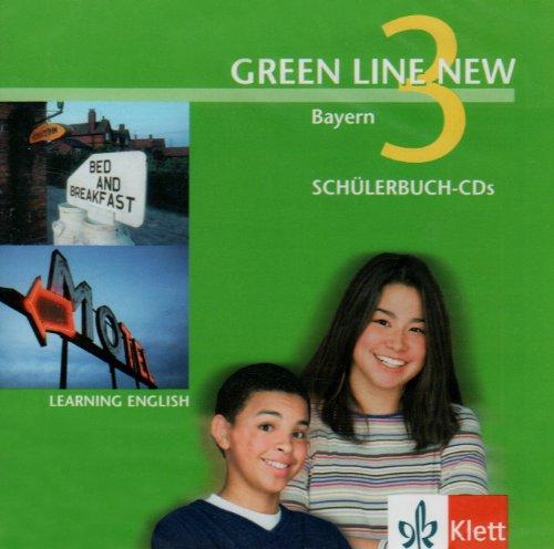Green Line New - Ausgabe Bayern. Englisches Unterrichtswerk für Gymnasien / Teil 3 (3. Lehrjahr) / Schülerbuch: Schüler-Audio-CD