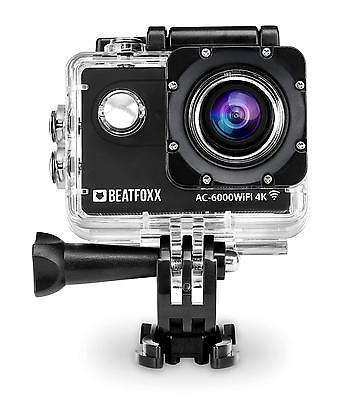 Kompakte 4K Unterwasser Kamera ideal für Fahrrad, Motorrad und Tauchsport