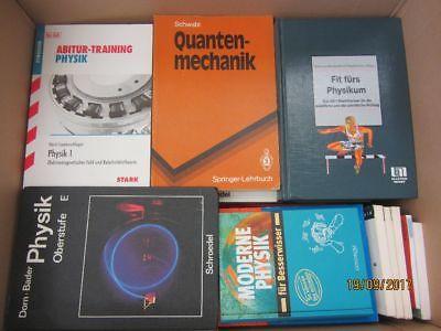 49 Bücher Physik Physikschulbücher Fachbücher Abiturtrainning