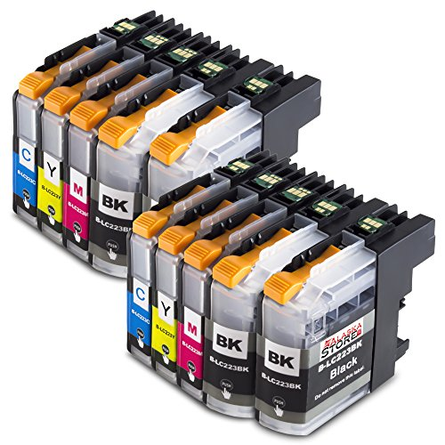 10 XXL Druckerpatronen Kompatibel für Brother LC223xl LC223 xl Brother Lc 223xl Brother LC 223 xl für Brother mfc-j5320dw patronen MFC-J5320DW MFC-J480DW MFCj480 dw DCP-J562DW MFC-J4420DW MFC-J880DW MFC-J4620DW MFC-J5620DW MFC-J680DW DCP-J4120DW MFC-J5720