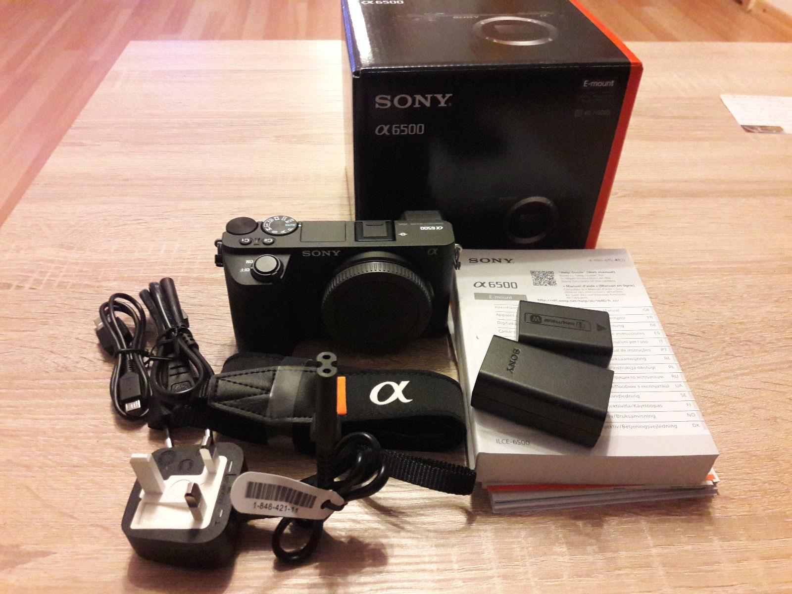Sony Alpha ILCE-6500 24.2 MP Digitalkamera - Schwarz (Nur Gehäuse)