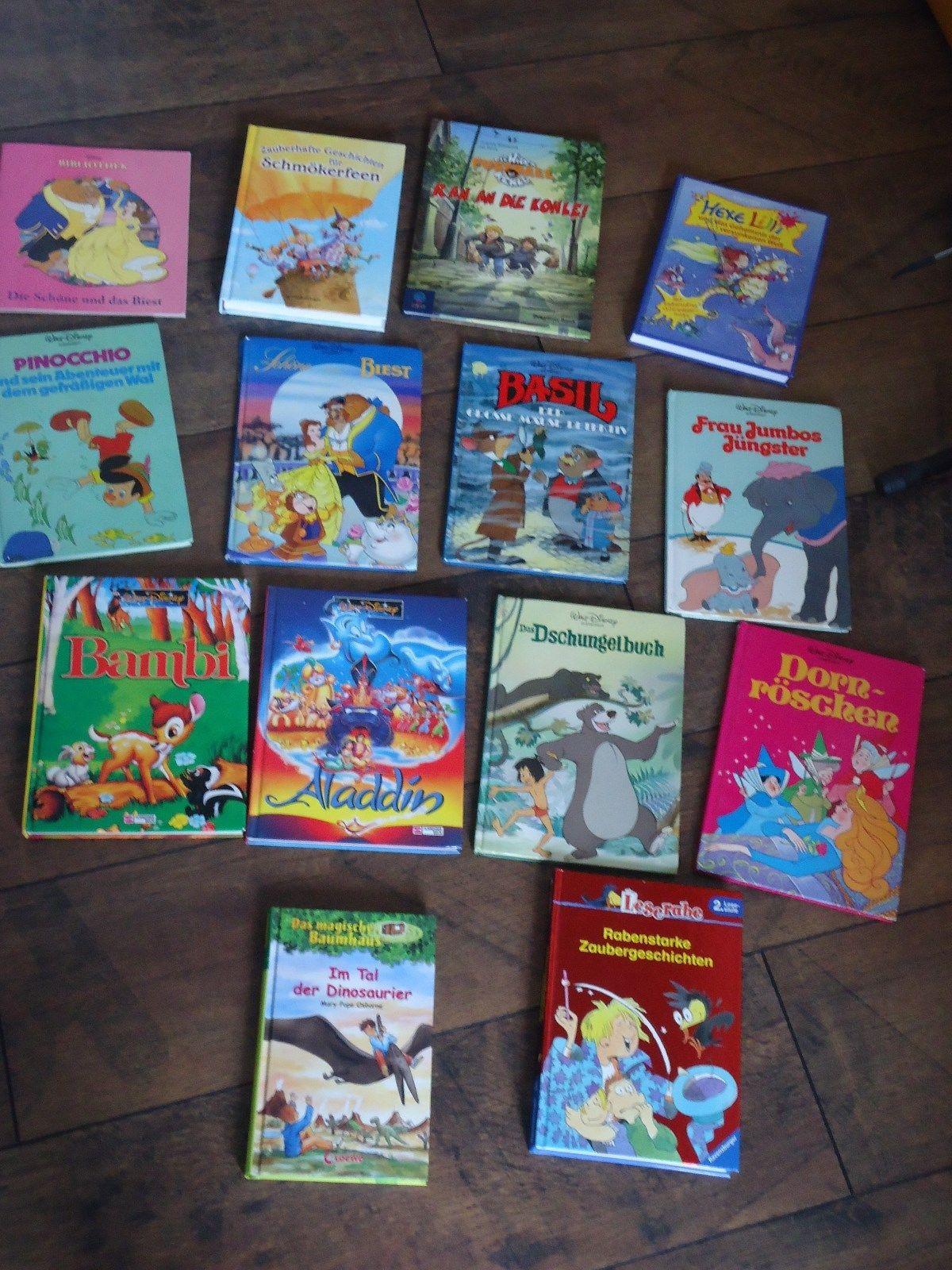 Kinder Bücher 14 Stück von Walt Disney , Baumhaus usw.