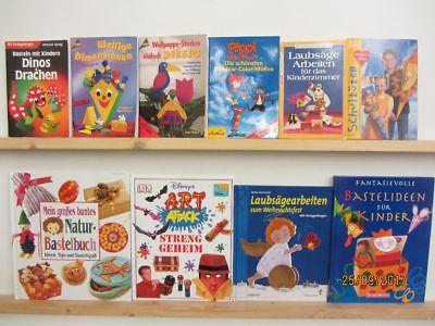 90 Bücher Hefte Basteln Bastelbücher Windowclor Bastelideen Naturbasteln