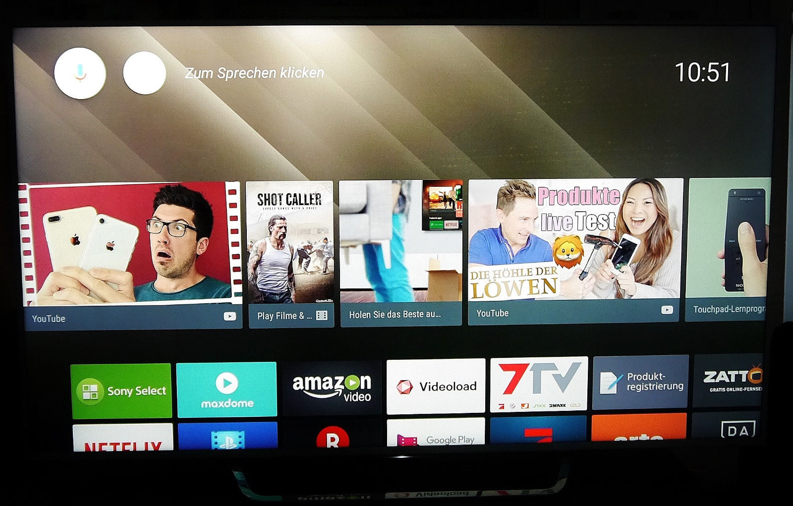 SONY KD-65X8507C LED TV (Flat, 65 Zoll, UHD 4K, 3D, SMART TV, von 11 2015