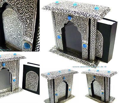 Koran Quran Arabisch + Glasvitrine *Islam muslim Tesbih takschita Abaya Kaftan*