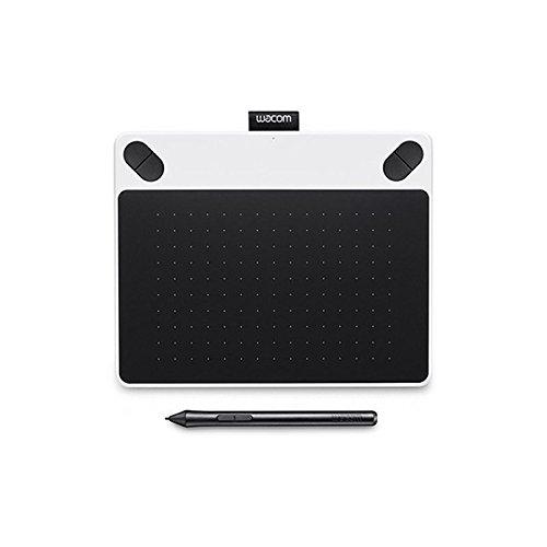 Wacom CTL-490DW-S Intuos Draw Stift-Tablett S (inklusive Softwaredownload von ArtRage Lite) weiß