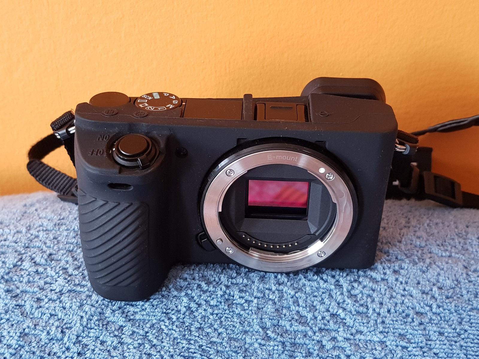 SONY alpha ILCE-6500 24.2 MP Digitalkamera - Schwarz (Nur Gehäuse), wie neu