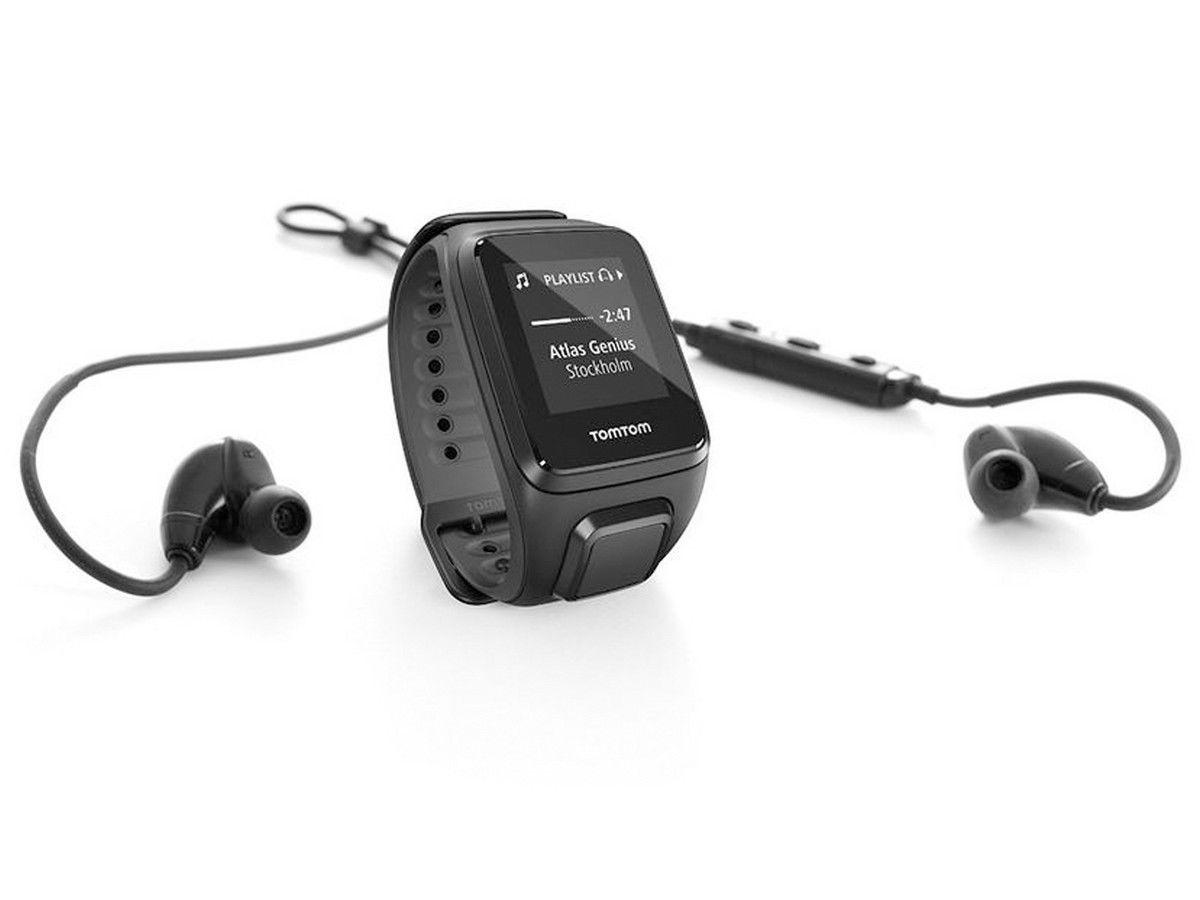 Tomtom Spark Cardio + Music Fitness S Fitness Armband Inkl. Bluetooth-Kopfhörer