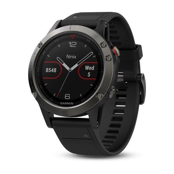 Uhr Garmin Fenix 5 GPS Grey Schwarz mit Cardio Handgelenk 010-01688-00