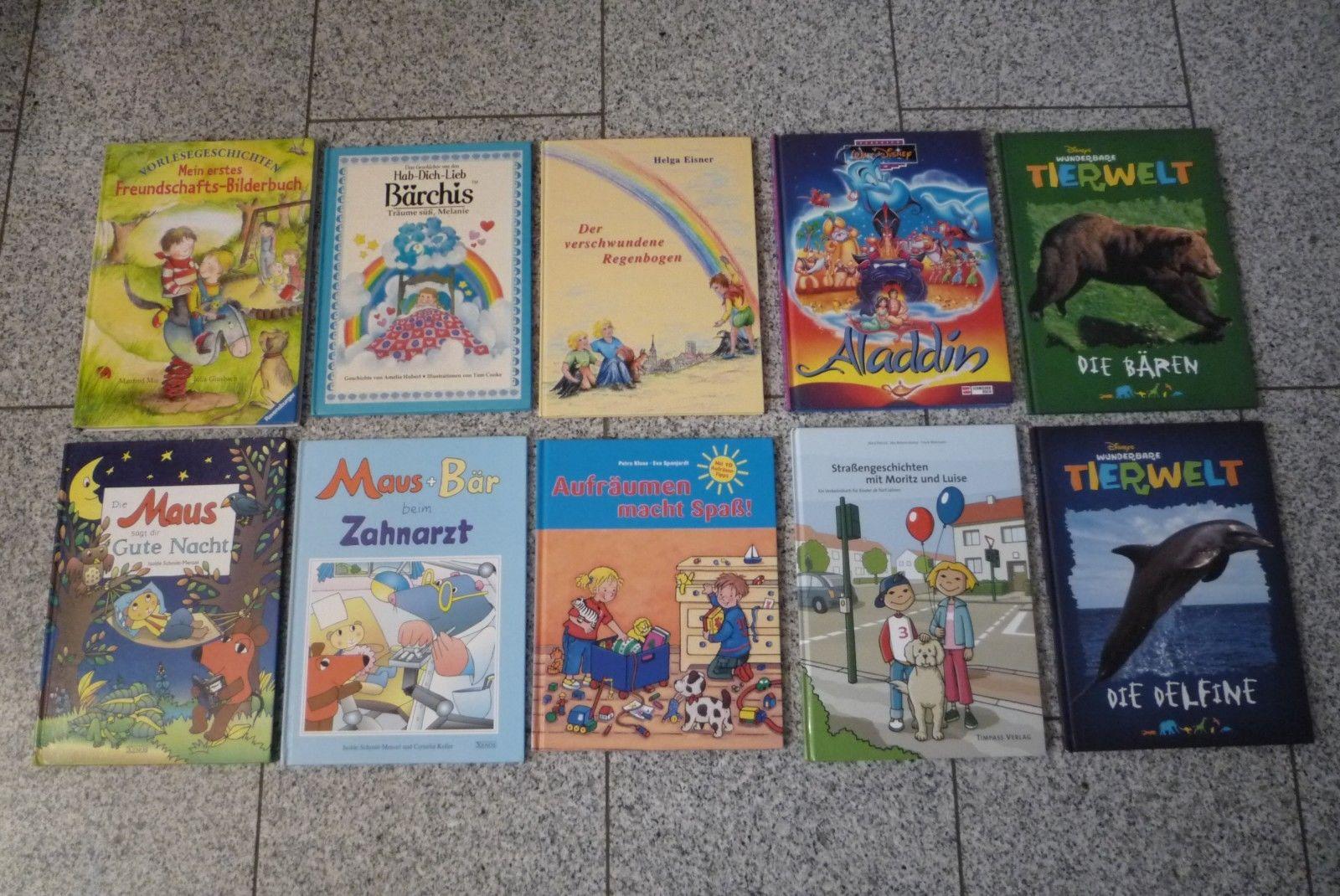 Mega Buch-Paket 69 Kinderbücher Bilderbücher Vorschule Freunde auch f. KiGa KiTa