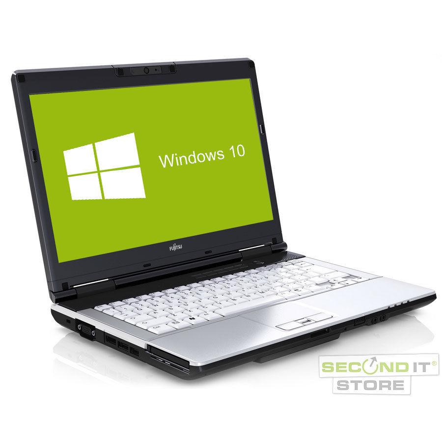 Fujitsu LifeBook S751 Notebook Intel Core i5 2x 2,5GHz 4GB RAM 320GB HDD Win10