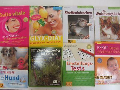 80 Bücher Softcover GU Ratgeber verschiedene Themen Gräfe+ Unzer