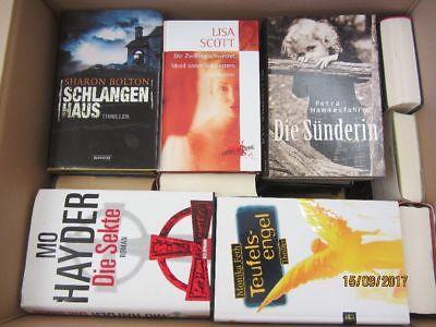 33 Bücher Romane Krimi Thriller Psychothriller  Top Titel Bestseller Paket 2