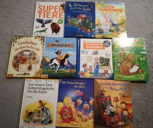 kinderbücher paket 10 Stück neuwertig