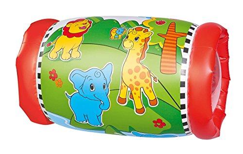 Simba 104010015 - ABC Krabbelrolle mit 2 Rasselbällen