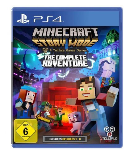 Minecraft Story Mode - The Complete Adventure (Playstation 4) (Neu & OVP)