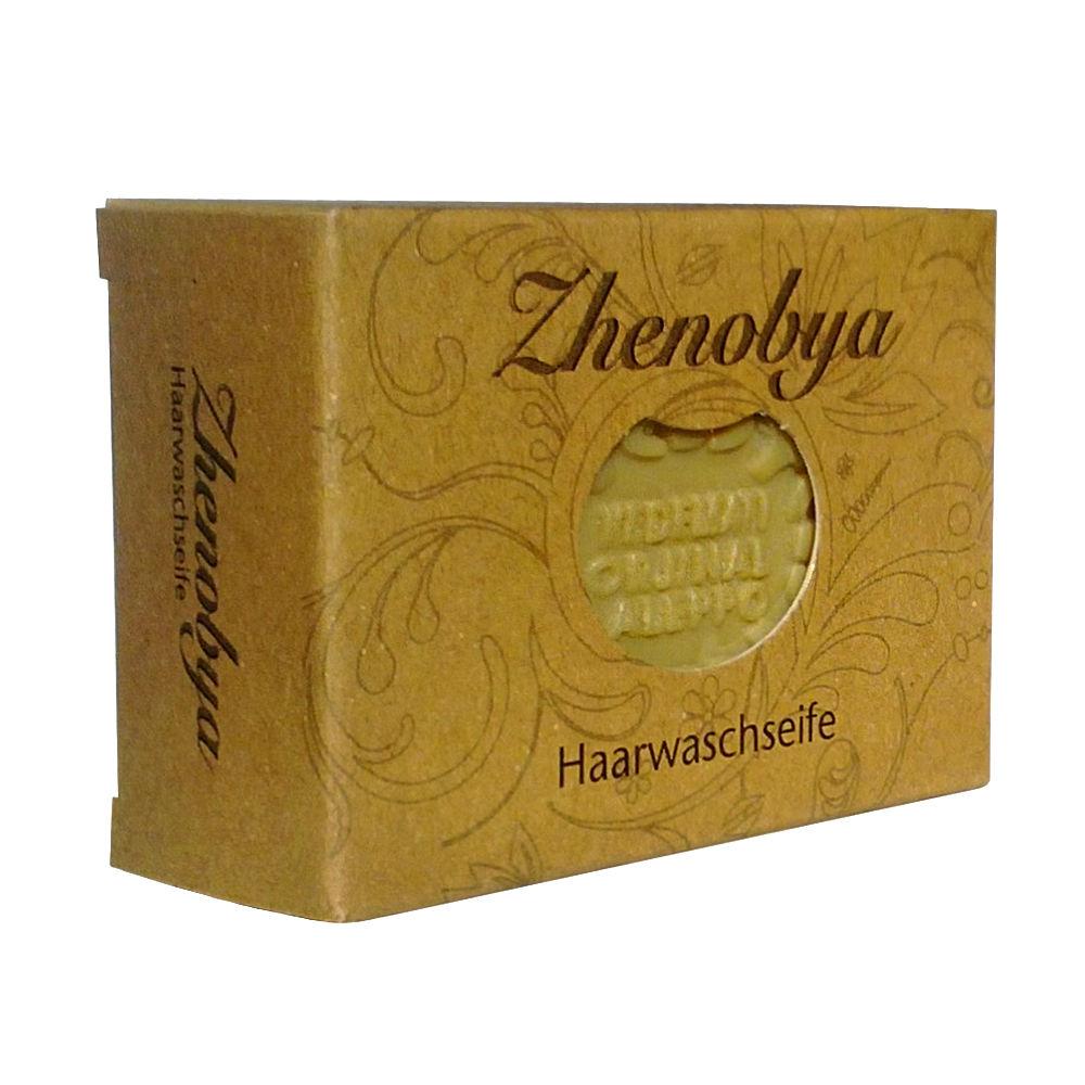 Aleppo Haarwaschseife mit Olivenöl, Lorbeeröl, Propolis 100g von Zhenobya