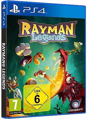 Rayman Legends - PS4 Playstation 4 Spiel - NEU OVP