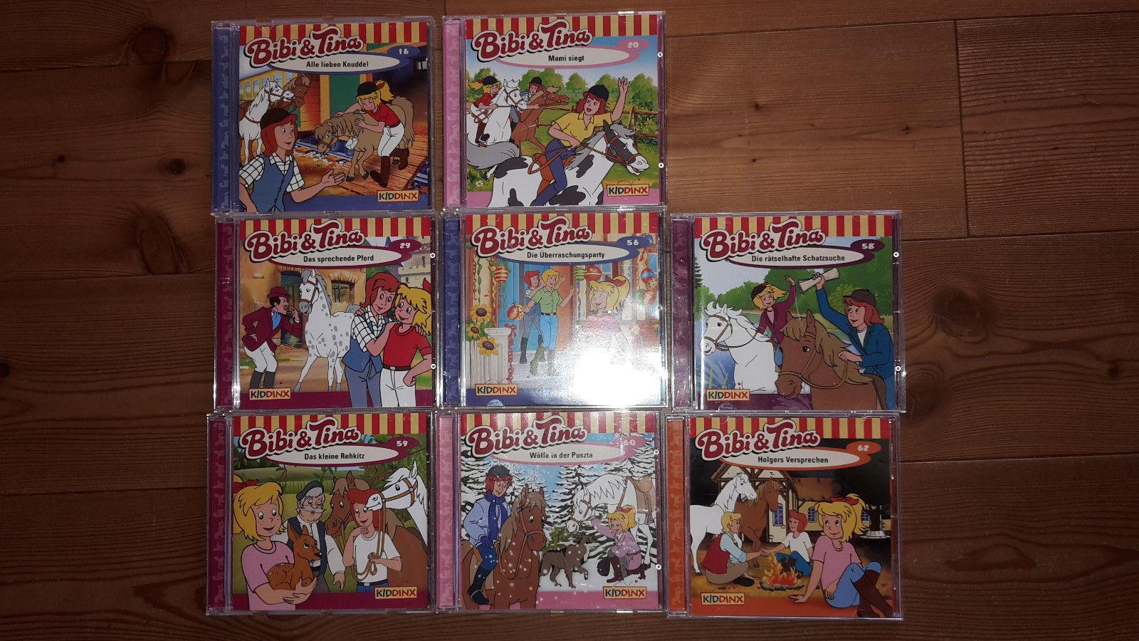 CD s Bibi und Tina Sammlung 8 Stück TOP