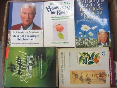 52 Bücher Gesundheit Medizin Selbstheilung Naturmedizin Naturheilkunde