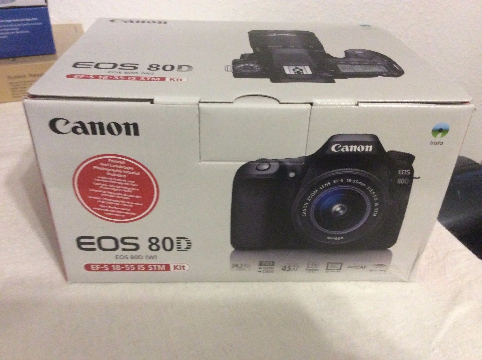 * Canon EOS 80D 24.2MP Kamera Body - Im Kit mit EF-S 18-55mm * NEU *Garantie*