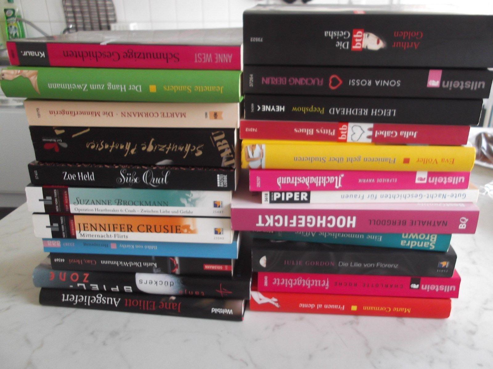 23 TOP Bücher - Erotik, Sex, Liebe, Prostitution, Seitensprungtipps, usw.