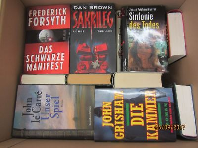 30 Bücher Romane Krimi  Kriminalromane Spionageromane Detektivromane