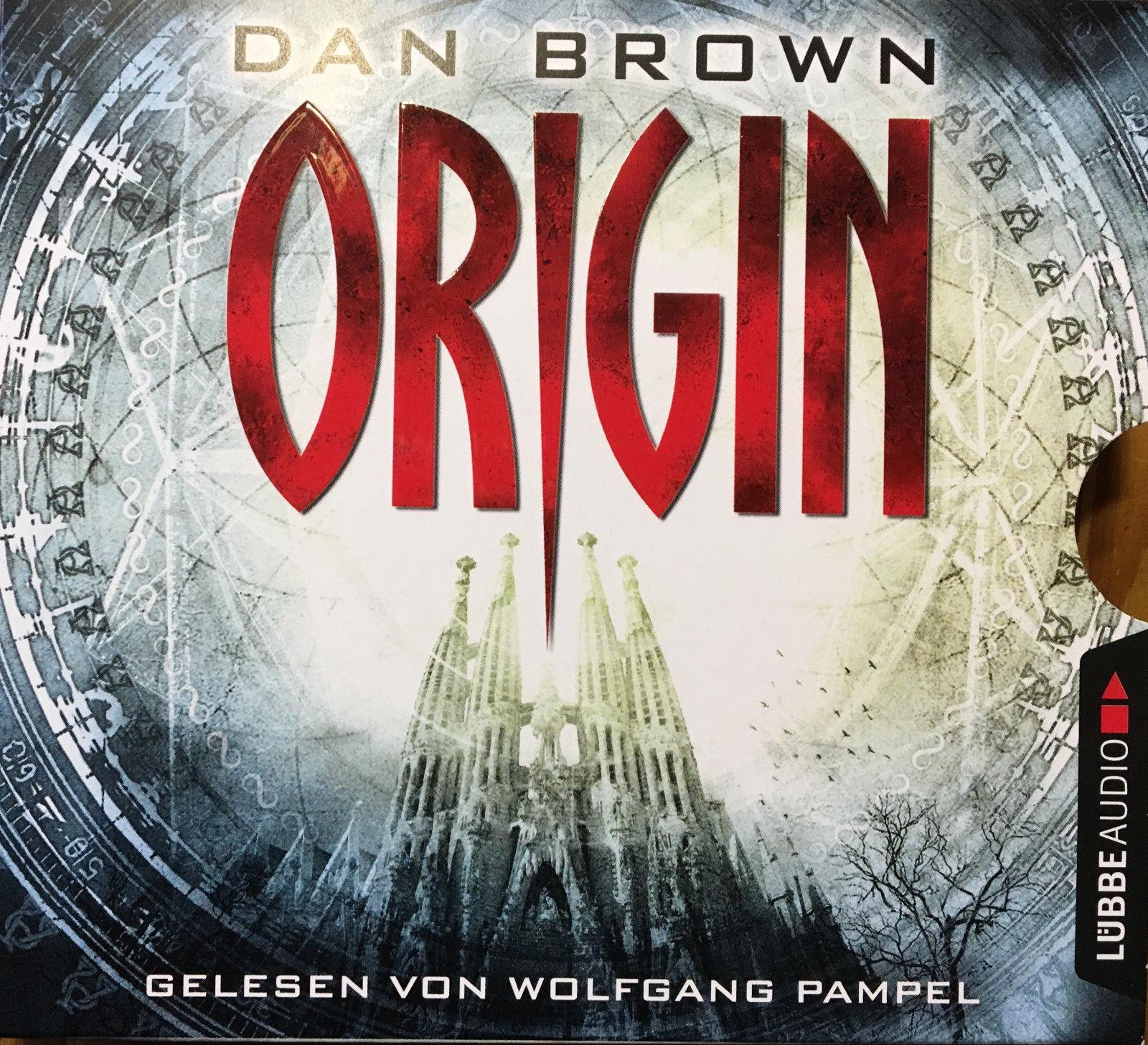 Origin von Dan Brown - (Robert Langdon, Band 5) - Hörbuch auf 6 CD´s - Neuwertig