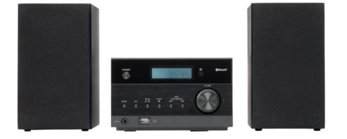 MEDION LIFE P64112 MD 43728 Micro-Audio-System mit Bluetooth-Funktion USB MP3