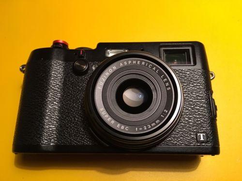 Fujifilm FinePix X Series X100T 16.3MP Digitalkamera - Schwarz