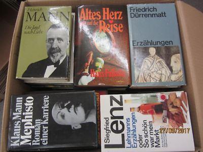 47 Bücher Romane deutsche Klassiker Böll Lenz Mann Grass Dürrenmatt u.a.