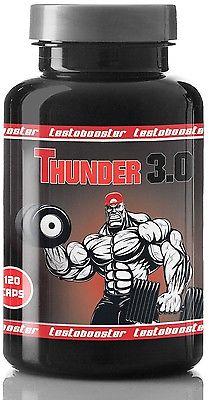 Thunder 3.0 Testo Booster Muskelaufbau extrem Testosteron Booster Masseaufbau